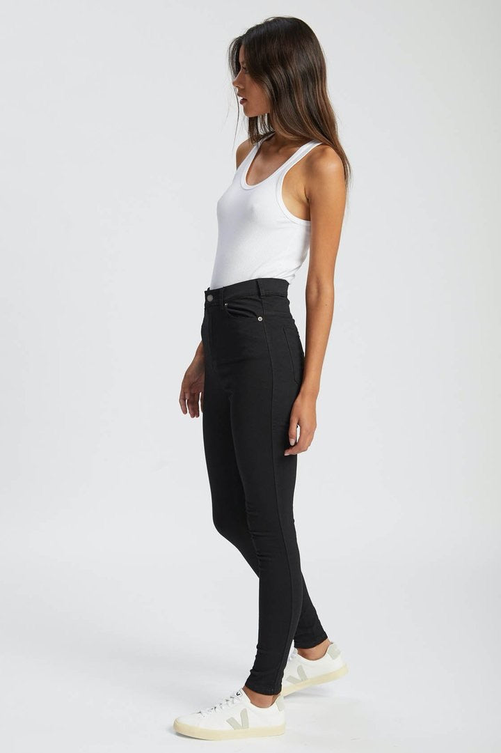 Dr Denim Black Moxy Jeans