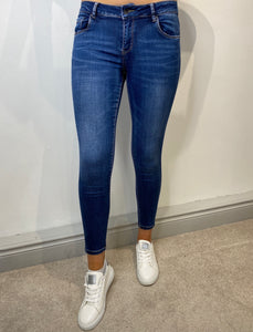 Holly High Rise Stretch Denim Jeans