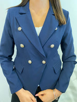 Load image into Gallery viewer, Amy Military Style Blazer
