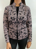 Load image into Gallery viewer, Black/Rose Jacket