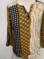 Load image into Gallery viewer, Jenny Chain Print Blouse