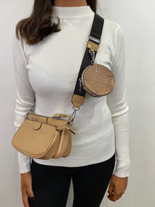 Mika Chain & Purse Crossbody Bag