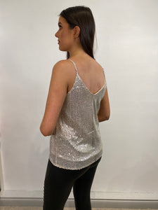 Linda Sequin Cami Top
