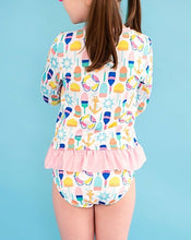 Load image into Gallery viewer, Oh Buoy! Long Sleeved Rashguard Two Piece