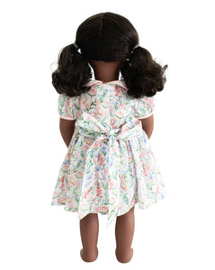 Butterfly Garden Dress for Doll