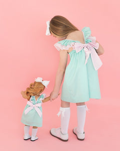 Mint Green Josie Dress for Doll