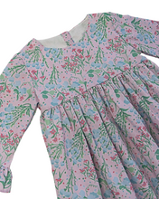 Load image into Gallery viewer, Botanical Floral Jumper with Scalloped Hem