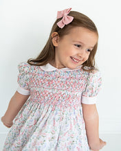 Load image into Gallery viewer, Butterfly Garden Smocked Dress
