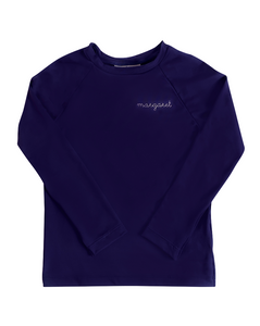 Rash Guard Long Sleeve in Navy