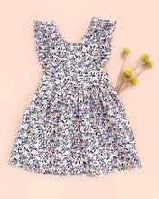 Load image into Gallery viewer, Blue and Pink Floral Penny Dress