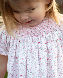 Patty Floral Smocked Bishop Bubble