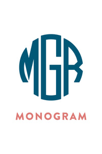 Monogram or Name