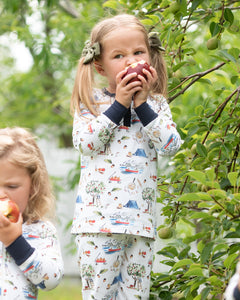 Fall Apple Picking Pajama Set