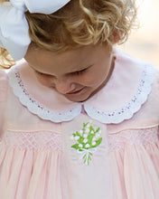 Load image into Gallery viewer, Blooming Bouquet Embroidered Pink Dress