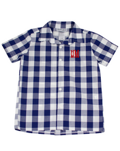 Load image into Gallery viewer, Classic Navy Check Shirt