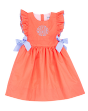 Load image into Gallery viewer, Coral and Baby Blue Dress