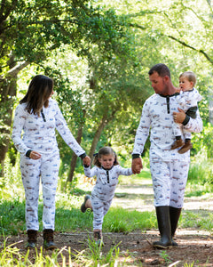 Duck  Duck  Woody Pima Cotton Pajama Set