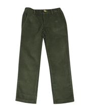 Load image into Gallery viewer, Dark Green Corduroy Pants
