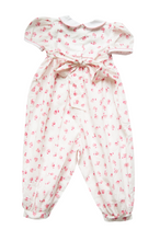 Load image into Gallery viewer, India Amory x Smockingbird Romper in Hibiscus Pink
