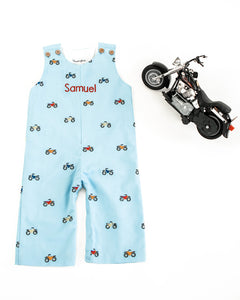 Motorbike Embroidered Longall