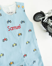 Load image into Gallery viewer, Motorbike Embroidered Longall