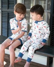 Load image into Gallery viewer, Nantucket Nautical Pima Cotton Zip Up Pajama