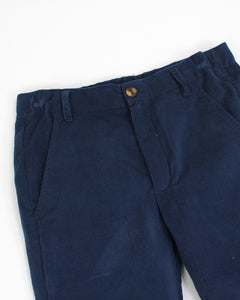 Navy Corduroy Boys Pants