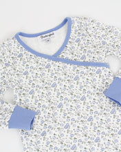 Load image into Gallery viewer, Periwinkle Petals Pima Cotton Pajama Set