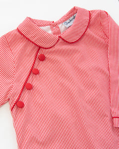 Red Gingham Wesley Longall