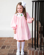 Load image into Gallery viewer, Nutcracker Smocked Pink Dress