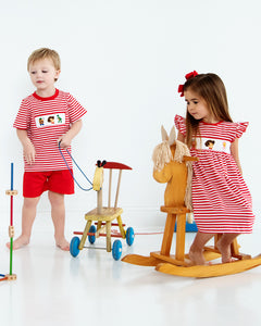 Playtime Pals Smocked Dress
