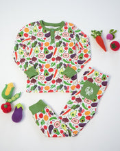Load image into Gallery viewer, Veg Out Pima Cotton Pajama Set