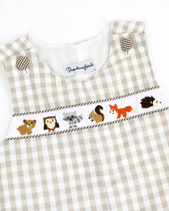 Woodland Animals Embroidered Longall