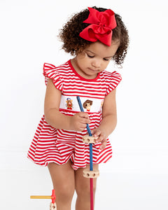 Playtime Pals Smocked Girl Bubble