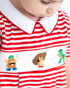 Playtime Pals Smocked Boy Bubble