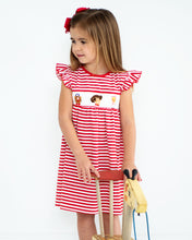 Load image into Gallery viewer, Playtime Pals Smocked Dress