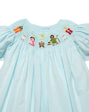 Load image into Gallery viewer, Nativity Smocked Bishop Dress