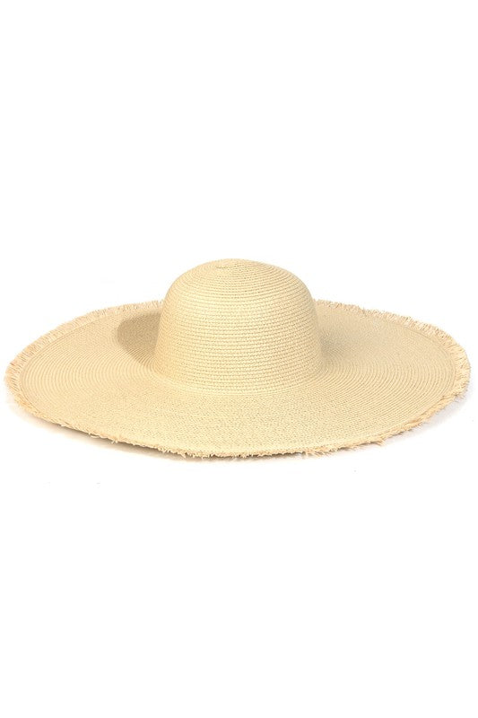 Extra Wide Natural Sun Hat
