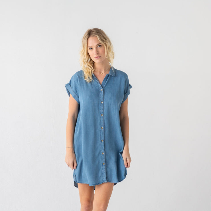 Everyday Chambray Dress