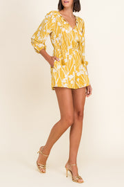 Flower Child Jumpsuit Yellow