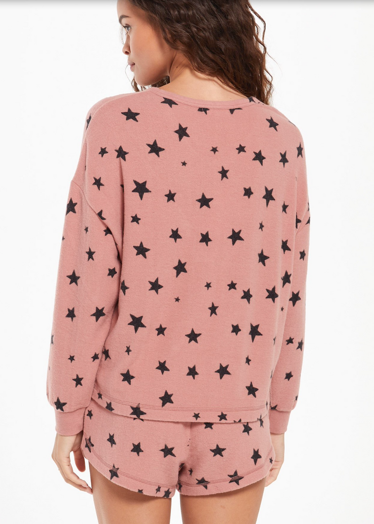 Rose Star Lounge Pullover