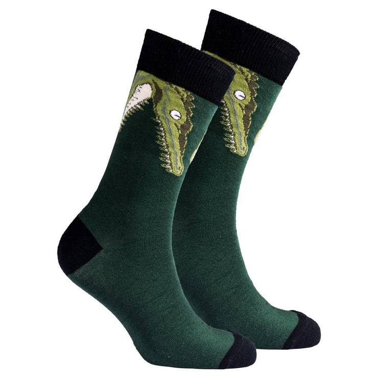Men's Crew Socks - Alligators