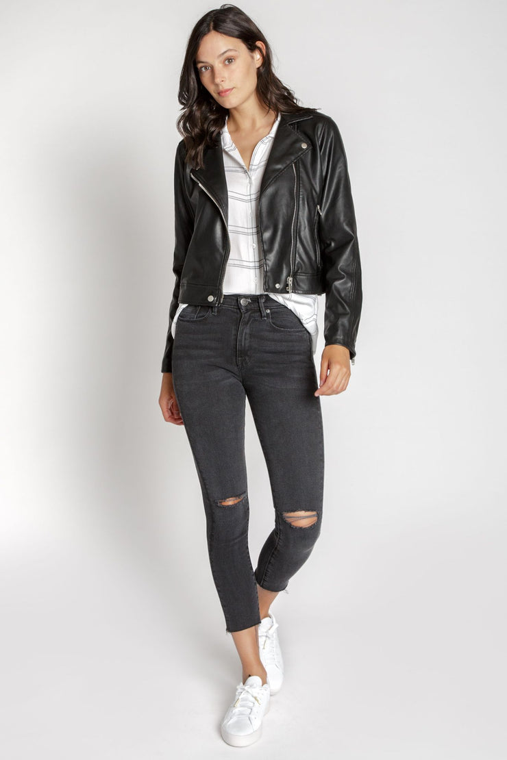 Maxwell Vegan Leather Jacket