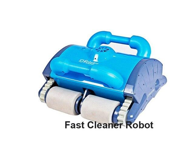 ICleaner 120 Intelligent Swimming Pool Cleaner, Smart Pool Cleaner Robot With Wall Climbing,Remote Control,Caddy Cart - robotprodukter