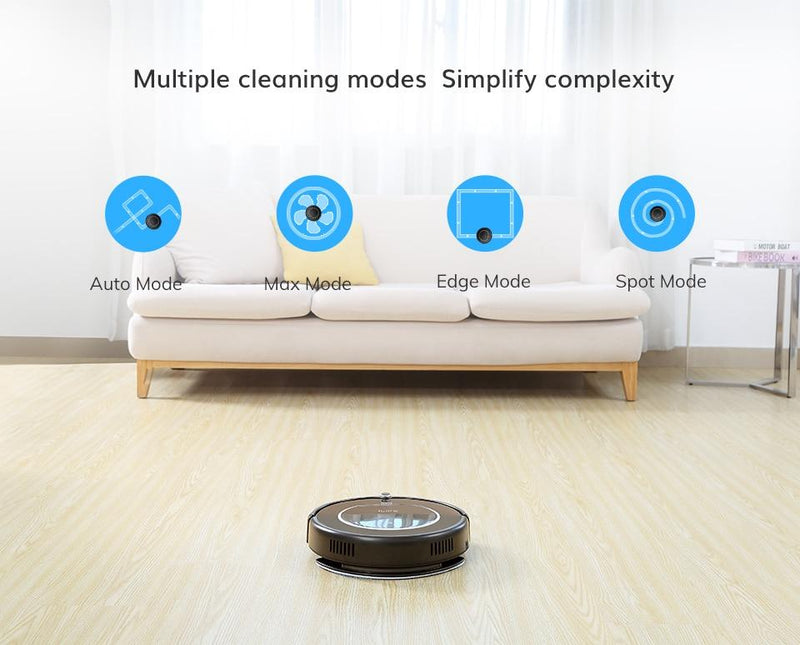 ILIFE V55Pro Robot Vacuum Cleaner Sweep Wet Mopping Virtual Wall Planned Cleaning Powerful Suction for pet hair disinfection - robotprodukter