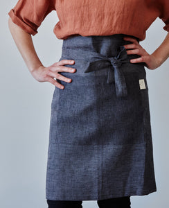 Half apron - Anthracite (seconds)