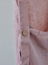 Load image into Gallery viewer, Linen Apron - Dusty rose