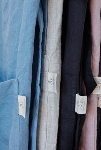 linen apron details highlight