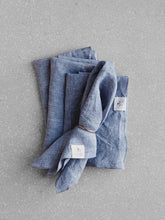Load image into Gallery viewer, Lavender linen napkin set