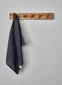 Linen Tea Towel - Anthracite